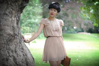 dress brown dress leeloo
