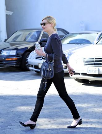 shoes black shoes pumps low heels