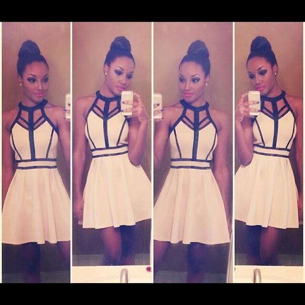 hot white dress dress