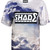 SHADE Short Sleeved Printed T-shirt - Cloud – SHADE London