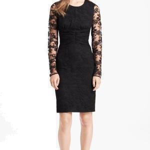 Burberry Black Long Sleeve Dress - Lace - Sale