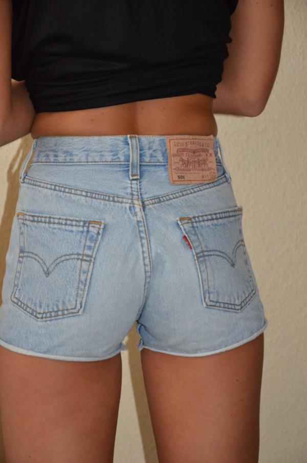 shorts high waisted denim shorts