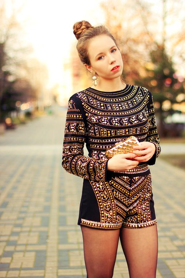 coat beading Choies blogger rycha mary-kate set shorts fashion