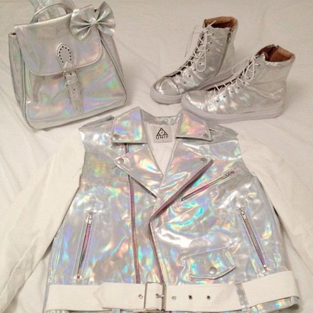 holographic shoes spacegirl high top sneakers holographic