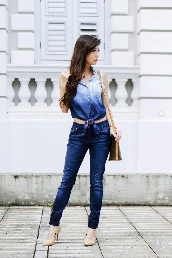 kryzuy t-shirt jeans bag shoes