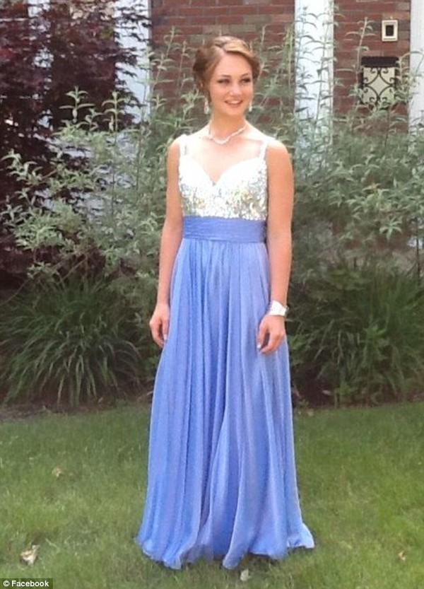 dress sea blue sparkly dress ball gown dress prom dress evening dress sequins