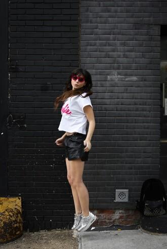 blog de betty blogger t-shirt shoes