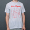 Maptote | los angeles adult tee silver