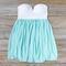 Sweetheart & mint dress