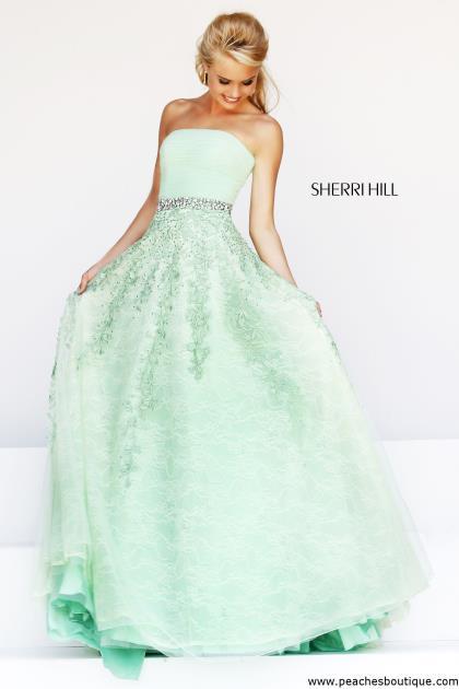 Sherri Hill Prom Dress 11123 at Peaches Boutique