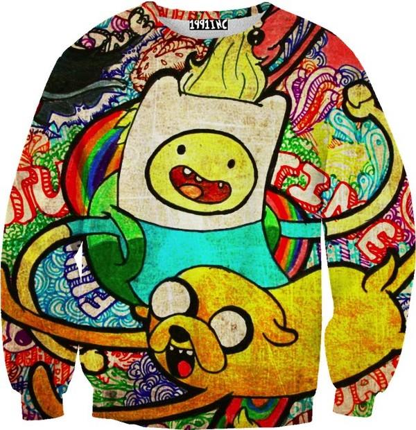 sweater adventure time adventure time sweater