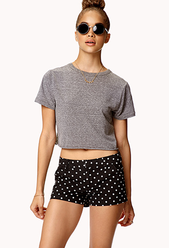 Must-Have Polka Dot Shorts | FOREVER21 - 2049164231