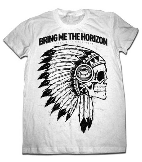 bring me the horizon band t-shirt