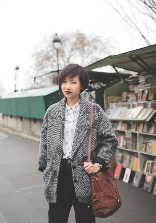 le monde de tokyobanhbao coat shirt jeans bag