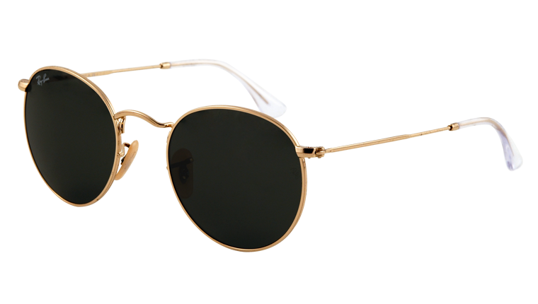 Ray-Ban Sunglasses - Collection Sun - RB3447 - 001 - ROUND METAL | Official Ray-Ban Web Site - France