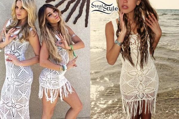 dress vannessa hudgens white dress vanessa hudgens