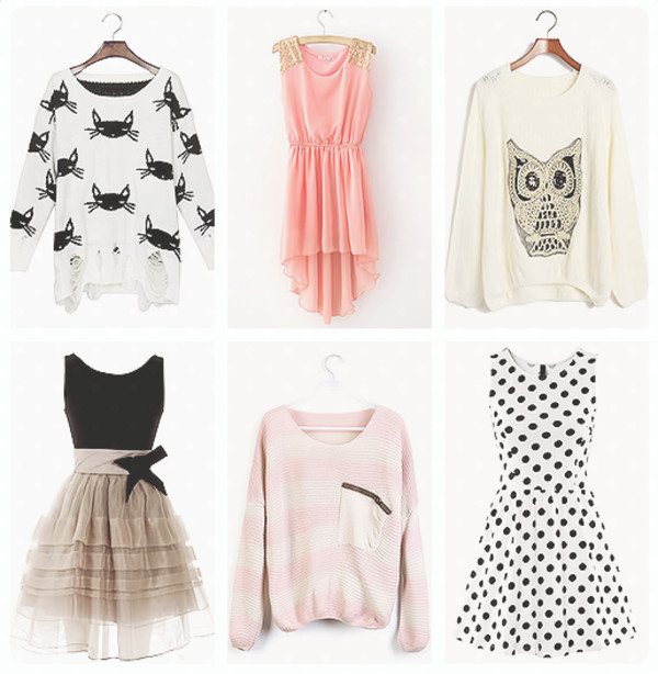dress dress owl sweater kitten white sweater