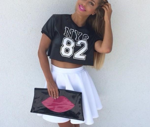shirt black shirt nyc fashion