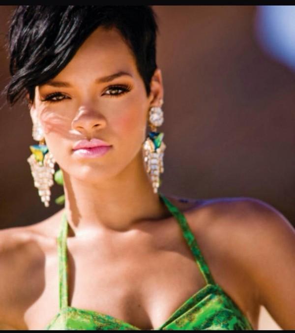 jewels rihanna earrings green