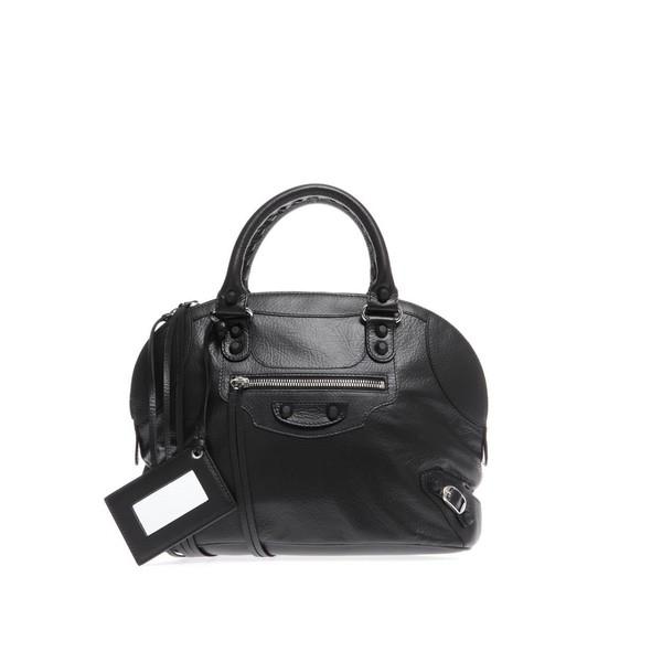BALENCIAGA Classic leather bowling bag - Polyvore