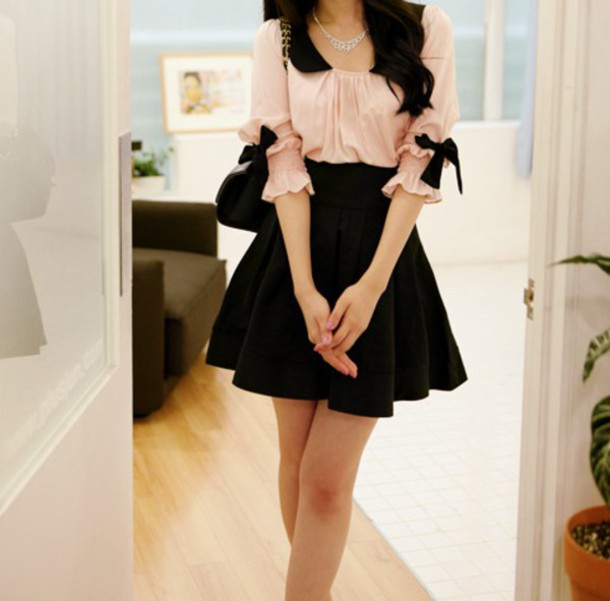 dress bow top