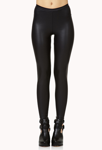 Must-Have Faux Leather Leggings | FOREVER21 - 2000128631