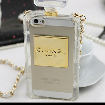 Chanel Perfume Bottle iPhone 5/5S/4/4S Case Samsung Galaxy S5/S4/S3/Note 3/Note 2 Case on Wanelo