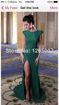 Aliexpress.com : Buy 2014 Elegant Bateau Neck Silver Sequins Crystal Open Back Slim Mermaid Evening Dresses Backless Special Occasion Dress from Reliable dress social suppliers on SFBridal