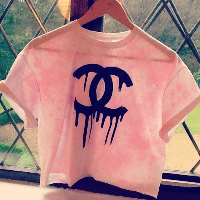 Melting Chanel Pink Top / Little Miss Charming