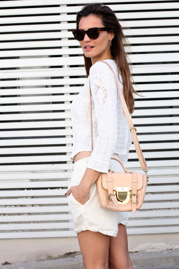lady addict shorts bag