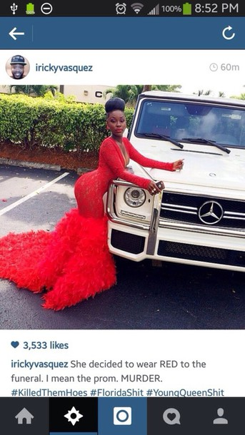 dress red red dress feathers prom feather dress full length ball
