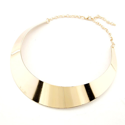 Oak Tree Boutique | Gold Finish Collar Necklace - Free Shipping - | Online Store Powered by Storenvy