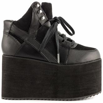 shoes platform boots gothic shoes black shoes cute platforms
