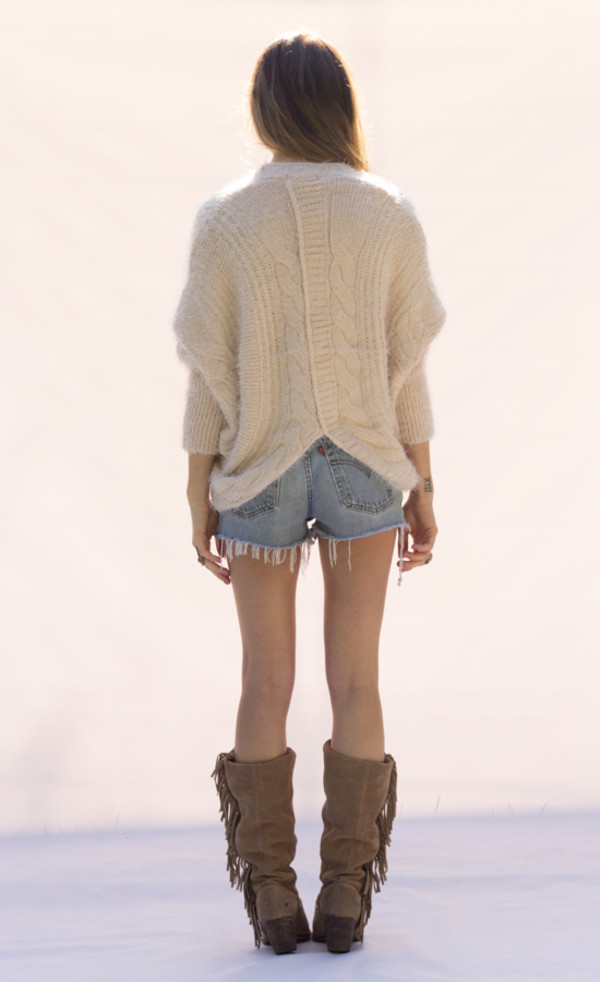 sweater fluffy pink top shirt knitted cardigan