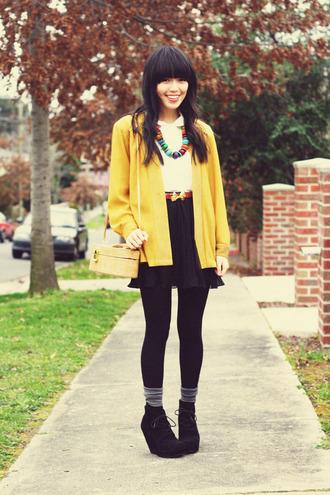 jacket kani yellow jacket