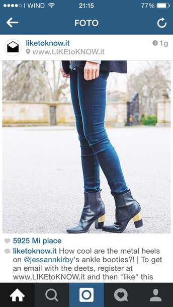 shoes boots ankle boots gold