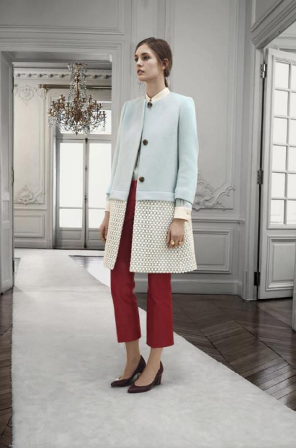 coat chloe fashion lookbook