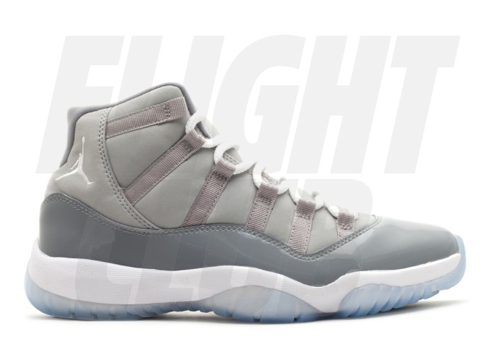 "air jordan 11 retro · ""cool grey 2010"" · 378037 001"
