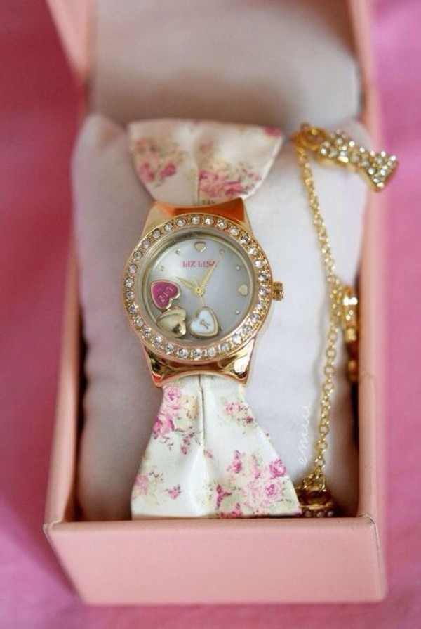 shoes watch jewels
