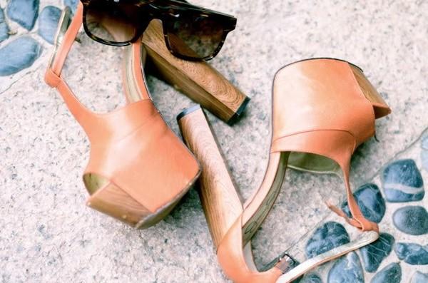 shoes high heels nude nude high heels
