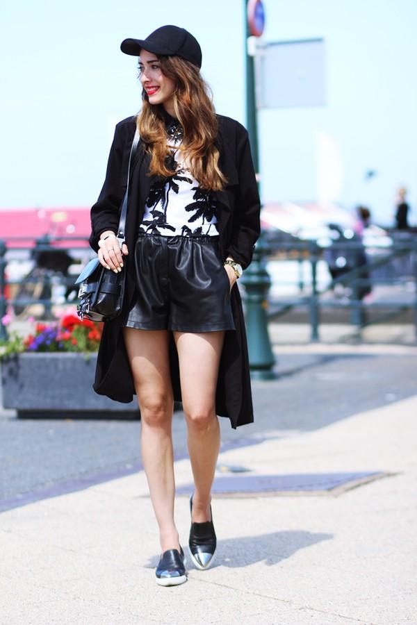 preppy fashionist top shoes bag shorts coat