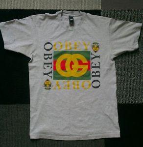 Obey T-shirt Gucci Rip (Medium)   eBay