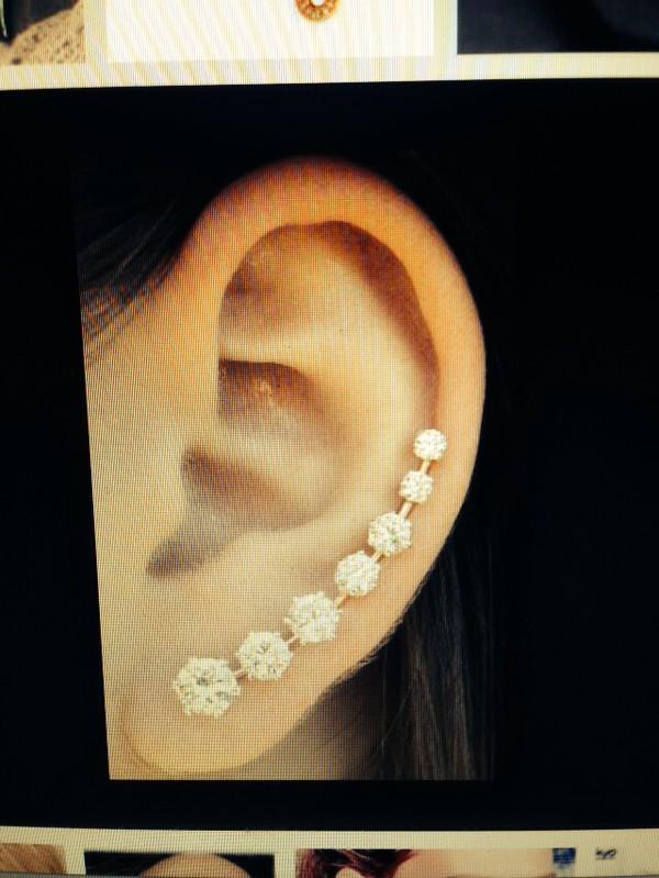 jewels earrings studs cuff pin climbing
