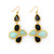 5 Stone Fancy Drop Earring – Teal House Collection