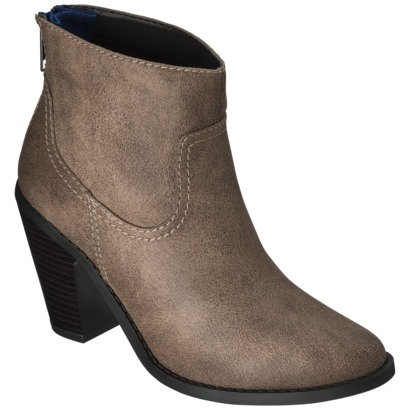 Women's Mossimo® Kodi Ankle Boot - Taupe : Target