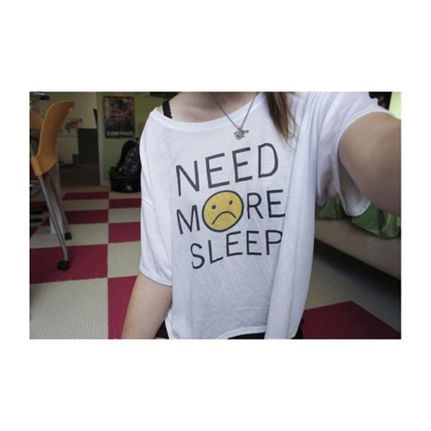 top sleep face yellow