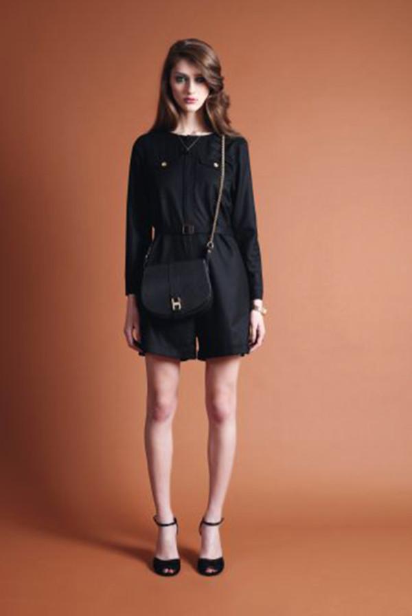 dress apc fashion lookbook bag shoes
