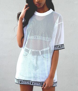 shirt shoes dress women clothes for women cleopatra mixed girl blouse dope see through oversized sweater mesh top mesh white design oversized tomboy summer top casual t-shirt t-shirt dress ghetto urban top skirt sheer sheer shirt sheer top