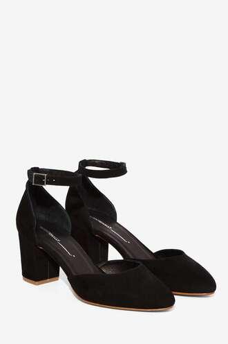 shoes low heels block heels black suede black suede shoes black shoes nastygal mary jane mid heel sandals