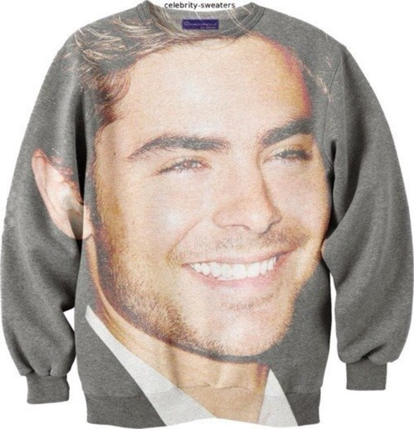sweater zac efron